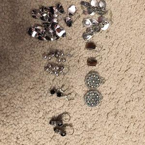 Premier Designs Jewelry - 7 pairs of Premier Design earrings